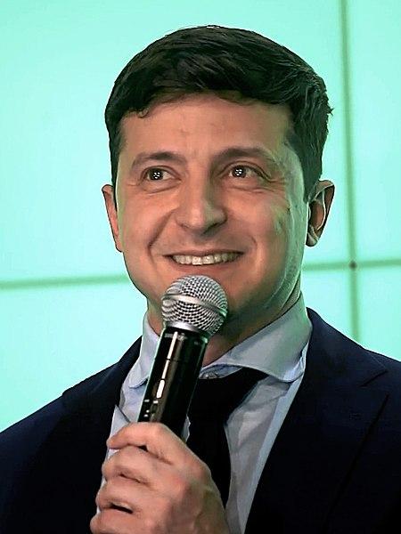 Ukraine Präsident Selenskij Gratulierte Allen Zur Taufe